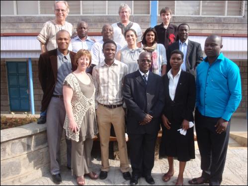 NEWS-Africa workshop group in Nairobi, Kenya. August 19, 2013